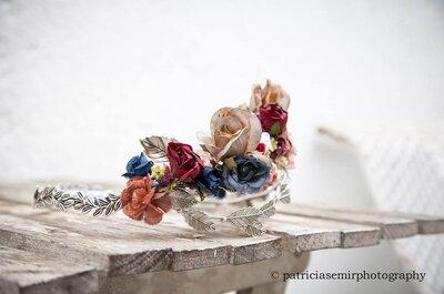50 accessori per capelli originalissimi per un bridal look da sogno