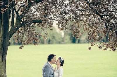 Inspiración desde un estilo vintage en una boda con muchos detalles