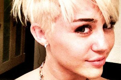 Miley Cyrus se corta el pelo antes de la boda