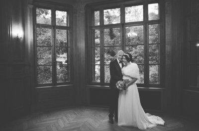 Pauline et Alexandre : un petit mariage plein d'amour dans un château du Pas-de-Calais