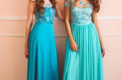 Vestidos de festa azuis 2017: a escolha perfeita para ser a mais linda convidada!