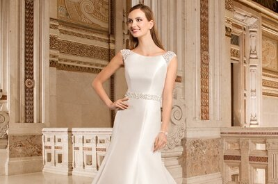 Tipos de escotes para tu vestido de novia ¿como elegir el adecuado?