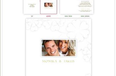 Wiemy jak stworzyć unikalne zaproszenia ślubne: wybraliśmy wzór z koniczyną!