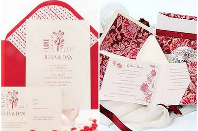 Tu boda en rojo y blanco: ideas para novias actuales