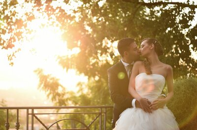 Real Wedding: Angela and David Say their Romantic Vows in Italy