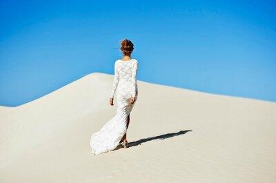 Vestidos de novia bohemios... ¡a que querrás uno igual!