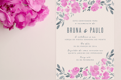 As 30 frases mais românticas para convites de casamento!