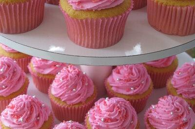 Ideas dulces y decorativas: ¡elige cupcakes para tu boda!