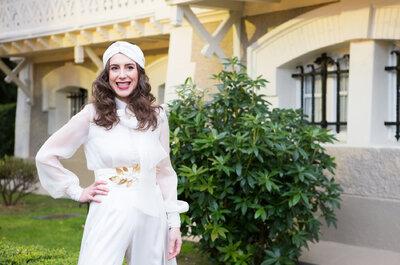 Kapsels voor de 2016 bruid: eenvoudig en natuurlijk!