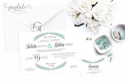 Descubre las últimas tendencias en invitaciones de matrimonio para este 2017