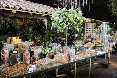 Mesas de Postres para tu boda en México DF: Descubre a 7 de las mejores empresas para diseñarlas