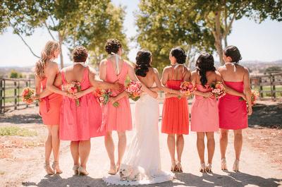 Guia de estilo para madrinhas de um mini-wedding de dia