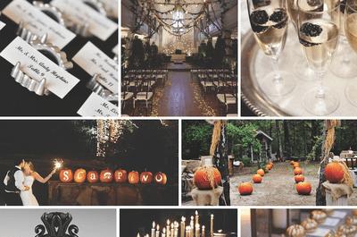 Trick or Treat: Una boda mega divertida inspirada en Halloween... ¡Las mejores ideas!
