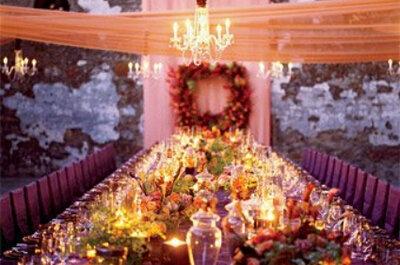 Ideas de decoración para celebrar una boda romántica