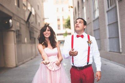 Un mariage inspiré par l'univers de Super Mario, une idée totalement loufoque