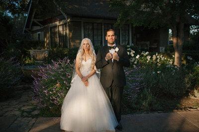 Naturaleza y amor vintage: Romance californiano y una estética inconfundible, ¡no te pierdas esta boda real!