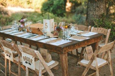 Los 9 elementos imprescindibles para una boda de inspiración DIY