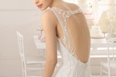 Lucir tu espalda descubierta en el día de tu boda ¡Un acierto!