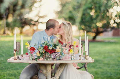 Wedding Table Top Decoration Ideas 2015