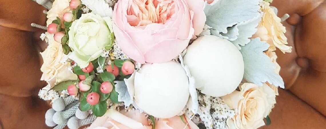 As cores pantone 2016 e os bouquets mais bonitos – 10 inspirações