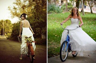 Ślub na dwóch kółkach, czyli rowerowe inspiracje weselne