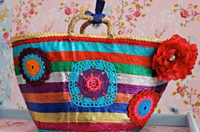 Op huwelijksreis: vergeet je kleurrijke strandtas niet!
