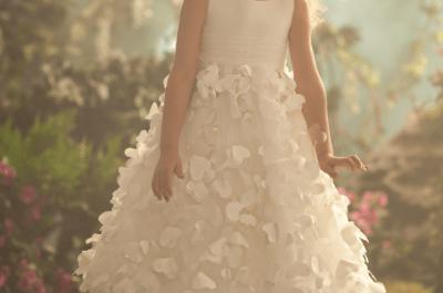 Coleção de vestidos para daminhas Alfred Angelo