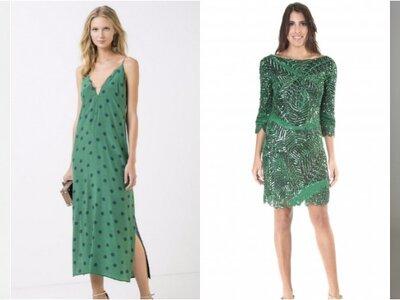 Vestidos de festa verdes curtos 2017: opções deslumbrantes para Madrinhas e Convidadas