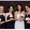 Una boda con detalles en color negro - Foto Kirralee Ashworth
