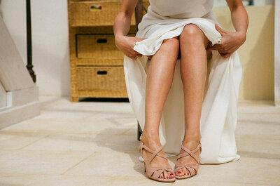 Hilfe, wie gehe ich mit dem Brautkleid nur ohne Zwischenfälle auf die Toilette?