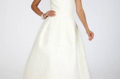 Vestidos de noiva Oscar de La Renta Outono 2013: difícil seria escolher