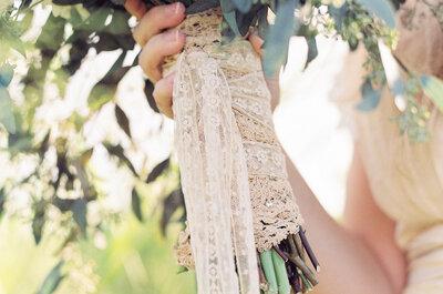 Cómo incorporar el encaje en tu boda: Detalles de ensueño