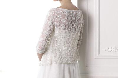 Свадебные платье с болеро и накидками 2015. Невесты, приближается зима!