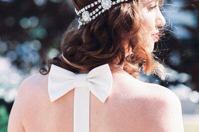 65 schöne Brautfrisuren für einen glamourösen Auftritt am Hochzeitstag