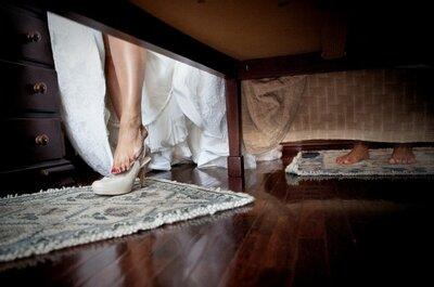 Fotos de sapatos de noiva para te inspirar