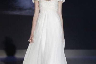 Fotos vestidos de noiva com listras