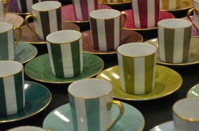 Servizio di nozze Marie Dâage: l'originalità di un set da tavola di lusso