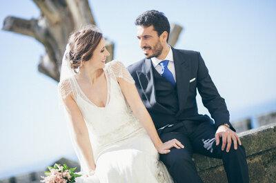 Amor en el gimnasio: la boda de Andrea y José