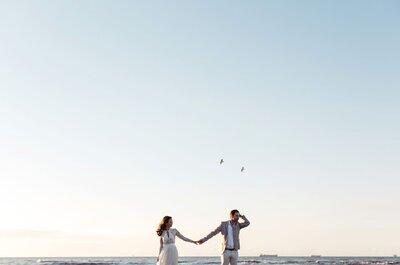 Lang leve de liefde! 9 vlinders in je buik momenten op je bruiloft