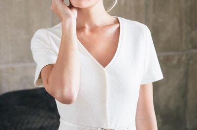 Die Lindegger küssdiebraut Kollektion 2015: traumhafte kurze Hochzeitskleider