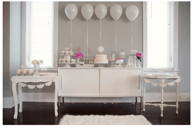 #MartesDeBodas: Una enigmática decoración de boda en color blanco... ¡Pureza absoluta!