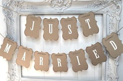 Ideias com guirlandas na decoração do seu casamento