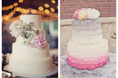 The 6 sweetest 2013 wedding cake trends!