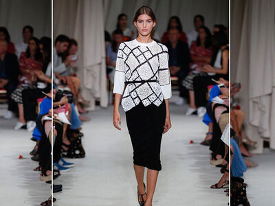Oscar de la Renta Spring/Sumer Ready to Wear Collection 2016 New York Fashion Week Catwalk