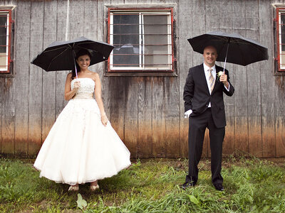 Don't let April showers dampen your spring wedding