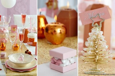 Zoé Confetti : une décoration tendance et originale pour un mariage unique