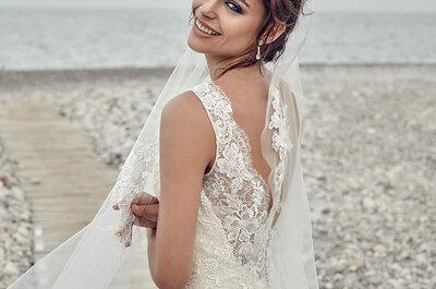 7 vestidos de noiva, 7 noivas diferentes: elejam o vosso!