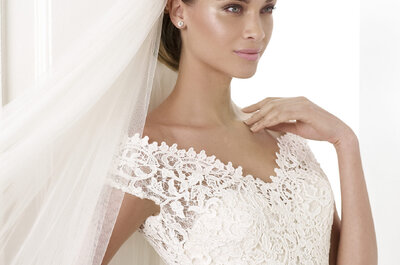 Embroidered gowns by Pronovias 2015