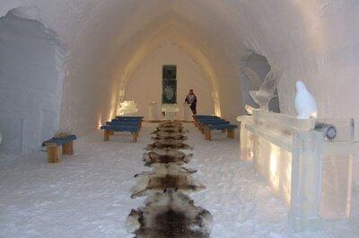 Top 5 meest originele bruidssuites – In Europa