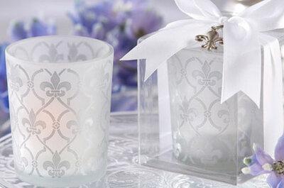 Hochzeitsdekoration – Originelle Kerzen